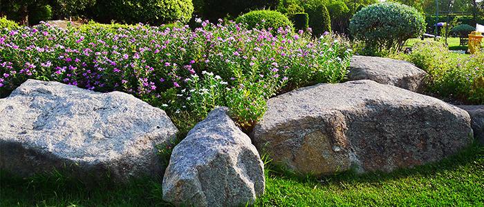 Landscaping boulders rocks