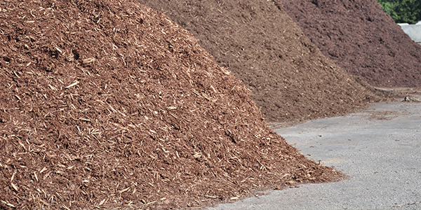 bark mulch and mulch installation