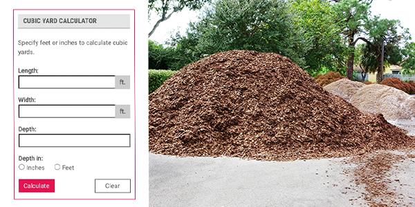 How to Measure Mulch, Mulch Calculator